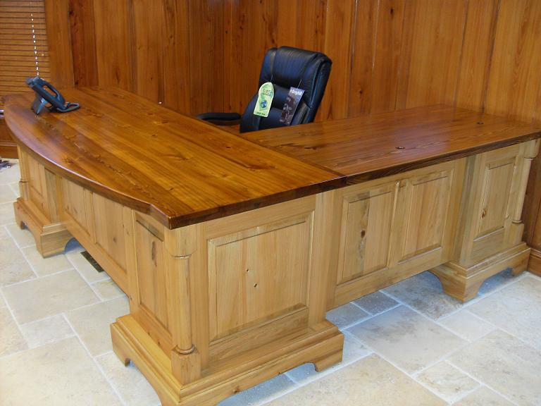 Wonderful Custom Cypress Desk